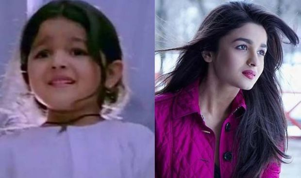 Bollywood Stars In Their Childhood And Now