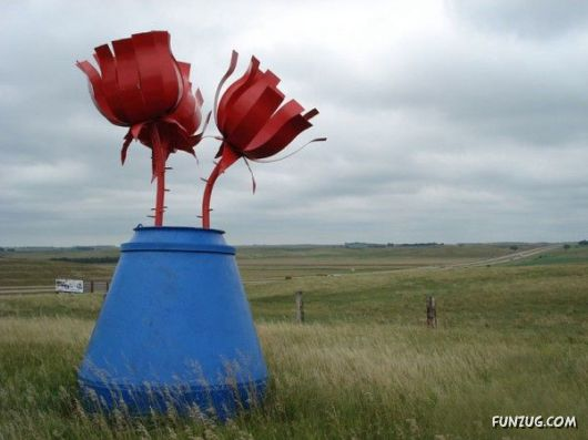 The Bizarre Sculptures Park