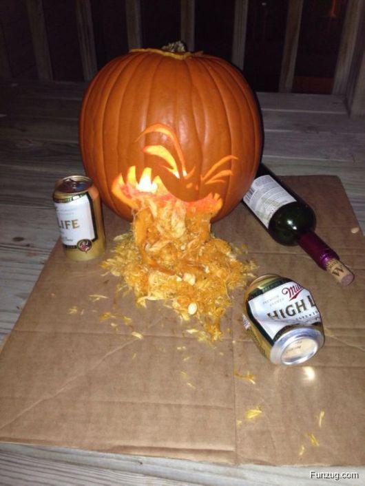 Pumpkin Carving Show-Offs