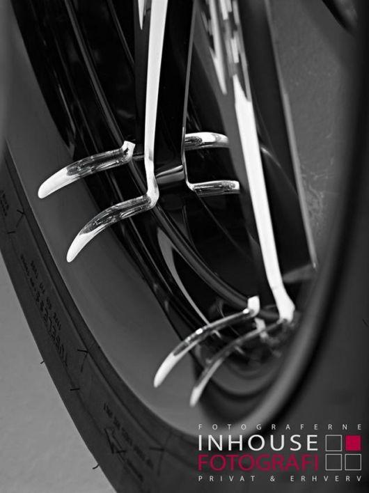 Stylish Motorcycle Designed By Wayne Rooney