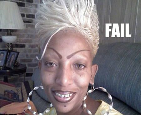 Hilarious Eyebrow Fails