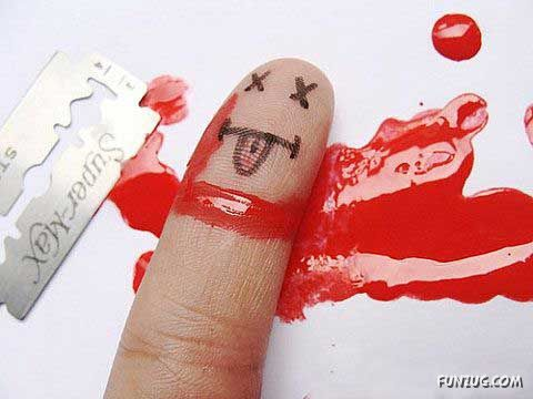 Fingers Creativity at Its Best