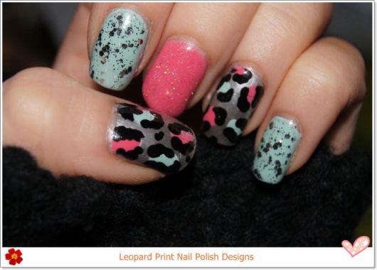 Leopard Nail Polish Designs