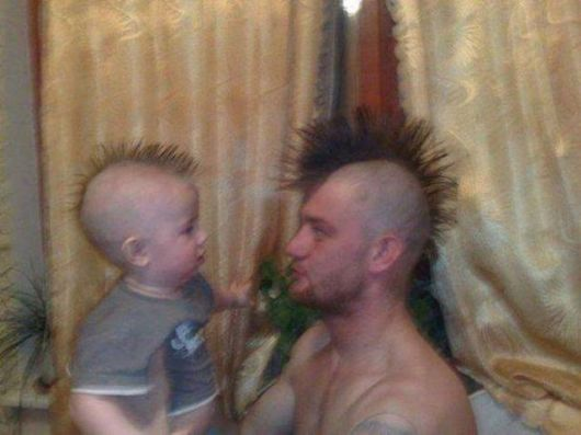 Like Father Like Son Funny Pictures