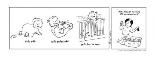 Comics That Every New Mother Will Relate To