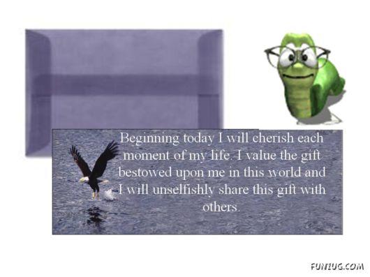 Beginning Today I Will