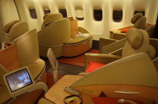 New Luxurious Aircraft Passenger Cabins