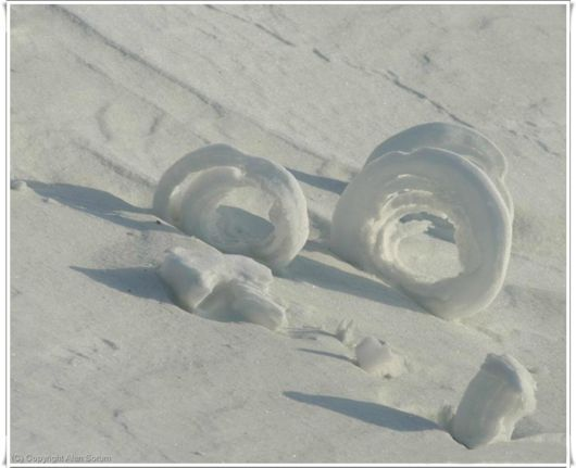Snow Rollers Is A Rare Natural Phenomenon
