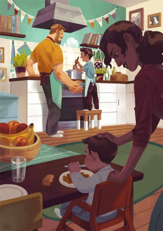 Heartwarming Illustrations That Show You The True Meaning Of Family