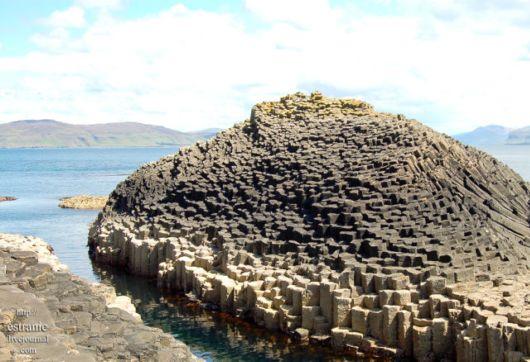 The Mysterious Pillar Island, Scotland