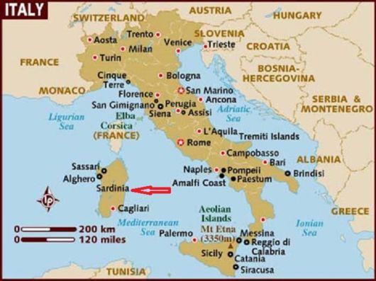 Visit The Sardinia Island, Italy