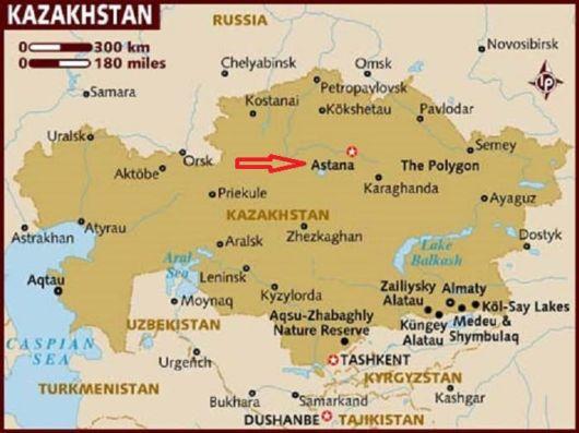 Lets Visit Astana, Kazakhstan