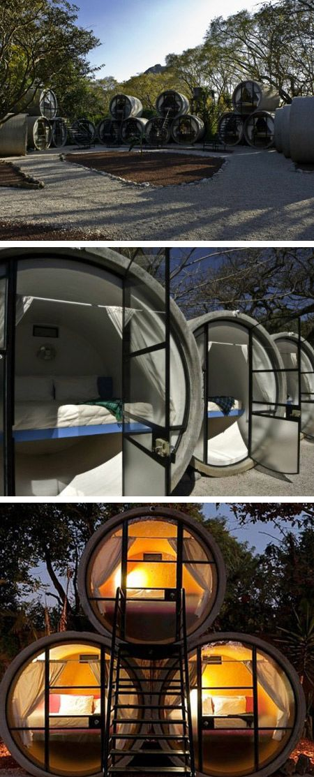 Hotels Made With Weird Things