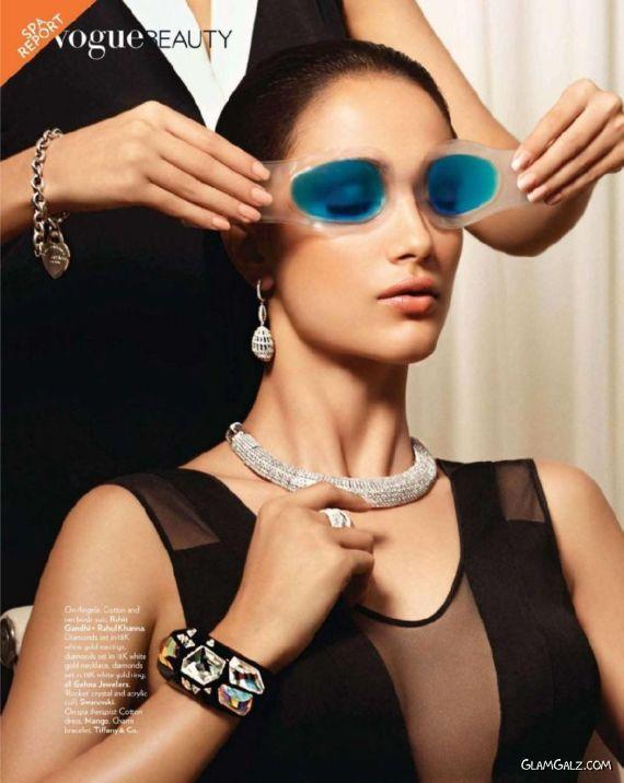 Angela Jonsson In Vogue India