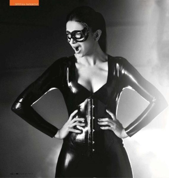 Deepika Padukone In GQ Magazine