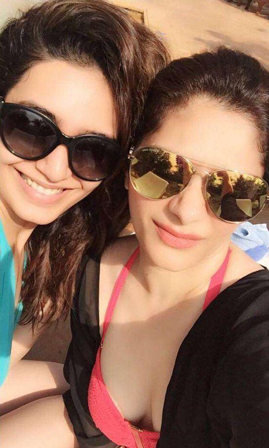 Karishma Tanna Chills Off On A Vacation