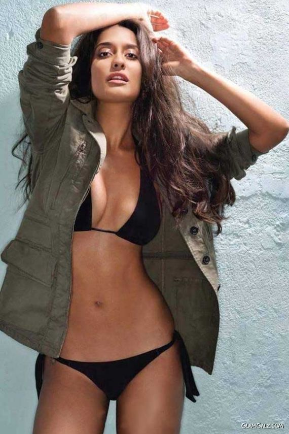 Lisa Haydon Shoots For Maxim India