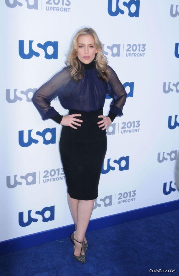 Piper Perabo At USA Network Upfront Event