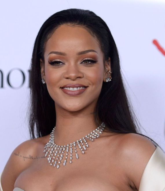 Rihanna At 2nd Annual Diamond Ball In Santa Monica