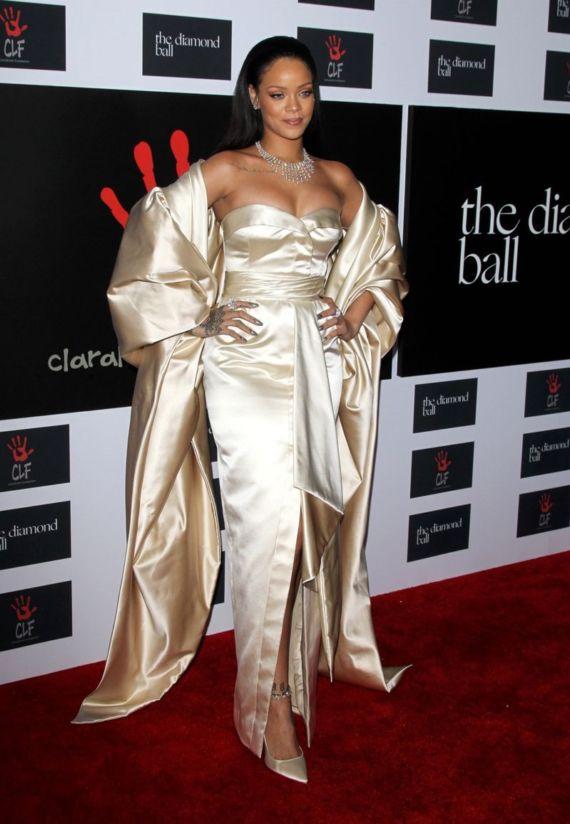 Rihanna At 2nd Annual Diamond Ball In Santa Monica