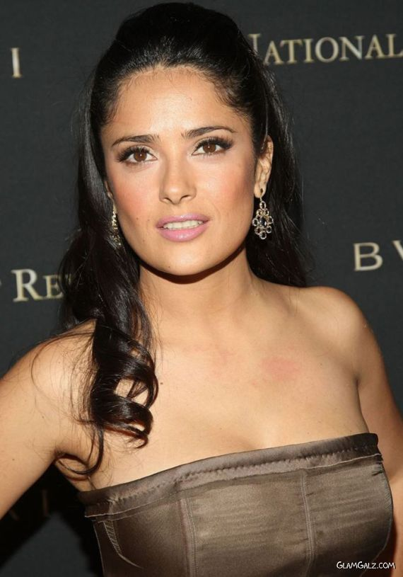 Salma Hayek At Nation Board Awards