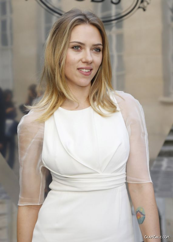 Scarlett Johansson At Tods Signature Collection