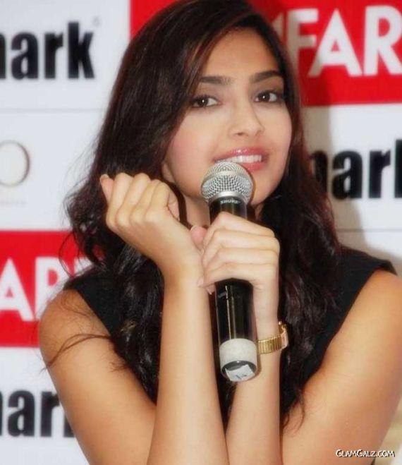 Sonam Kapoor at FilmFare Launch