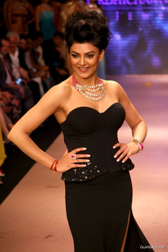 Gorgeous Sushmita Sen Walks The Ramp