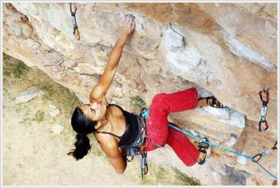 Beauties And Rock Climbing Equals Good Time