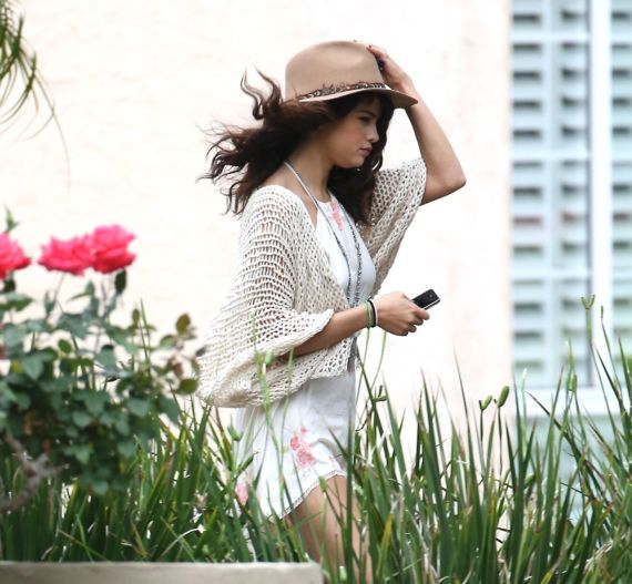 Selena Gomez Out And About On The Streets
