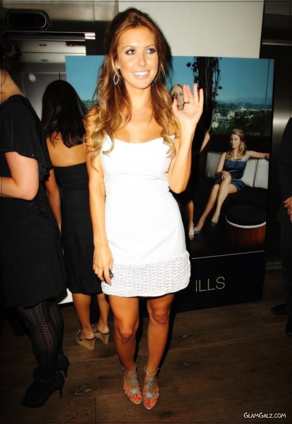 Audrina Patridge Looking Gorgeous In White