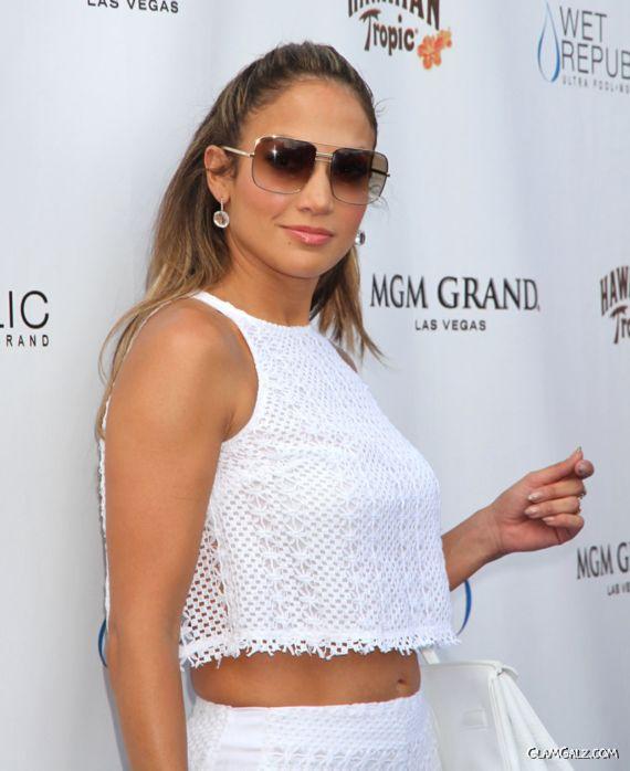 Jennifer Lopez At Wet Republic