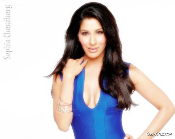 Click to Enlarge - Spicy Sophie Choudry Wallpapers
