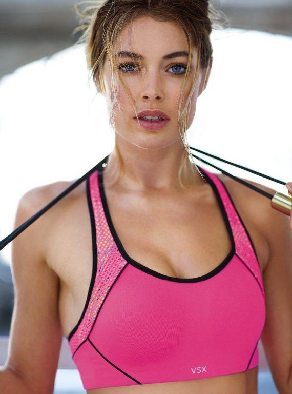Doutzen Kroes For Victorias Secret Sports Shoot