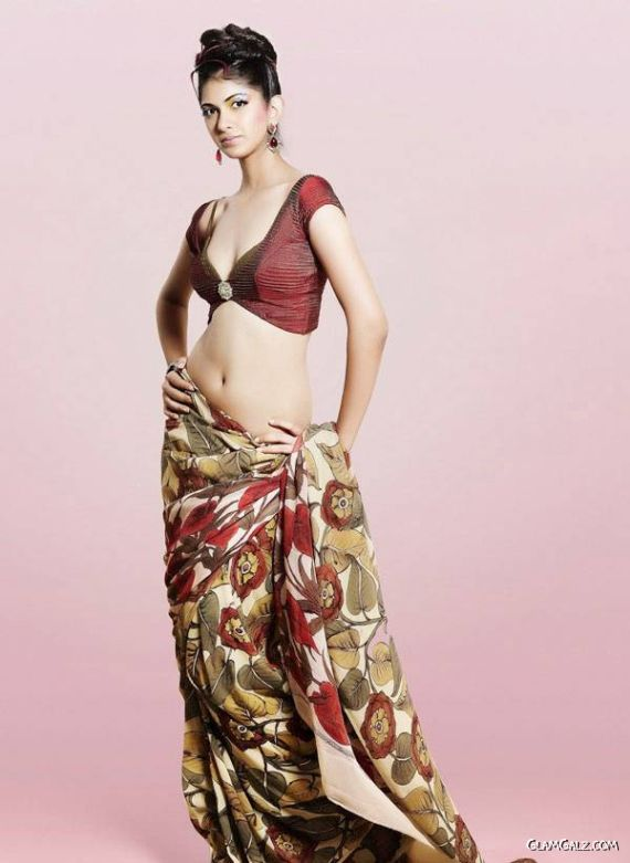 Glamorous Indian Fashion Model Rhea