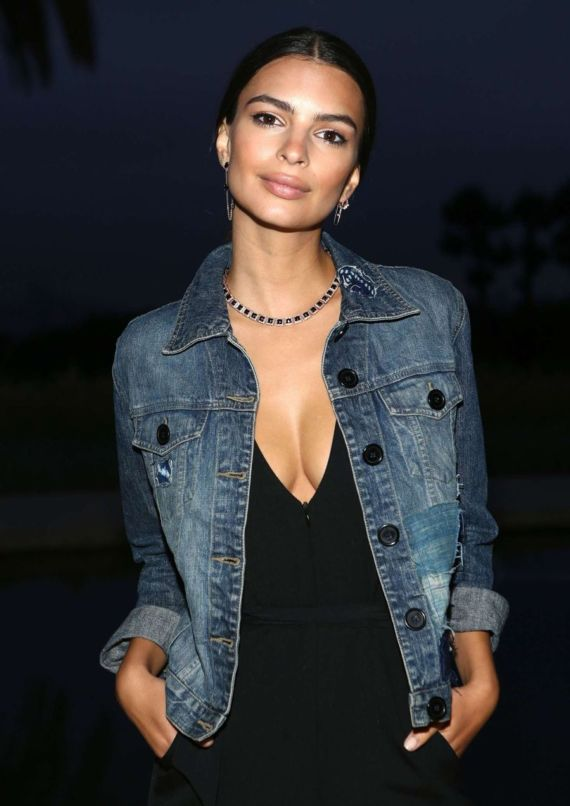 Emily Ratajkowski AT Yoox X Studio 189 Party In LA