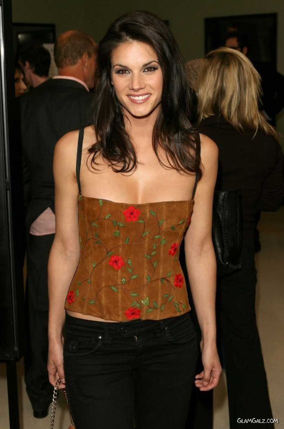 Missy Peregrym at The Defendor Premiere