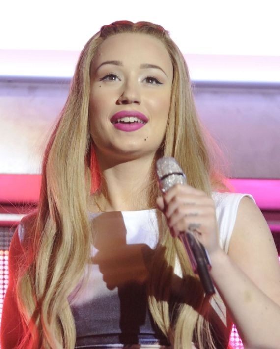 Iggy Azalea Performing At The New Classic Tour