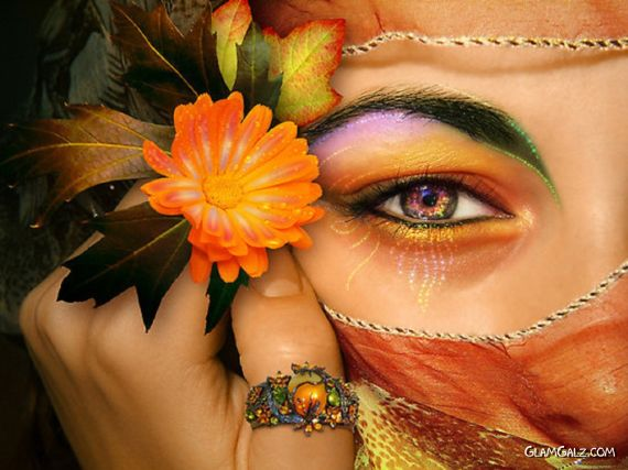 Click to Enlarge - Colorful Beautiful Women Wallpapers