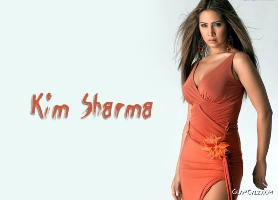 Click to Enlarge - Bollywood Beauty Kim Sharma Wallpapers