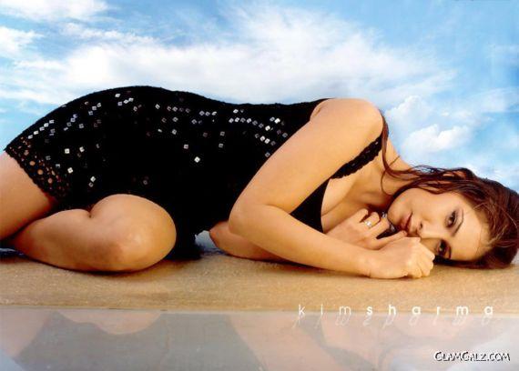 Click to Enlarge - Bollywood Beauty Kim Sharma Wallpapers