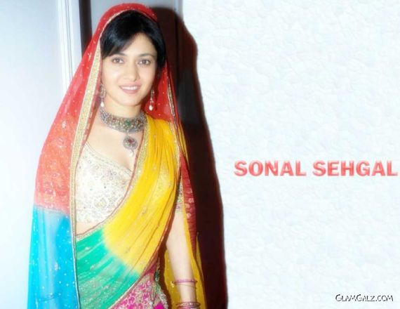 Click to Enlarge - Indian Actress Sonal Sehgal Walls