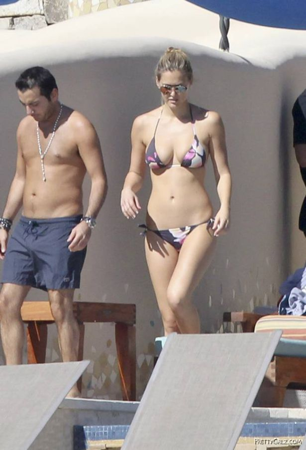 Bar Refaeli Bikini Candids in Mexico