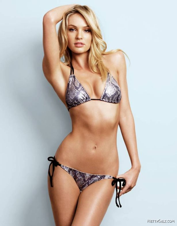 Candice Swanepoel Beach Bunny Photoshoot