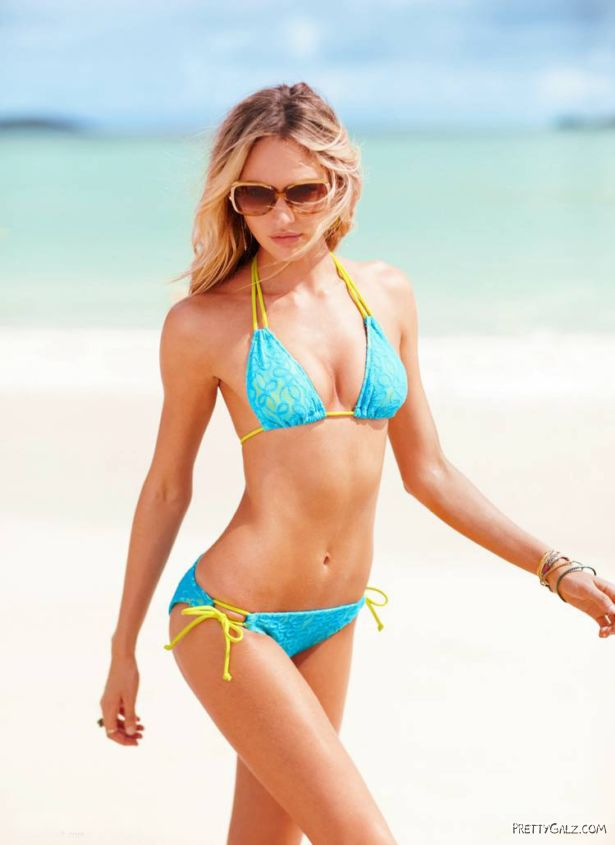 Candice Swanepoel For Victorias Secret Swimwear Shoot