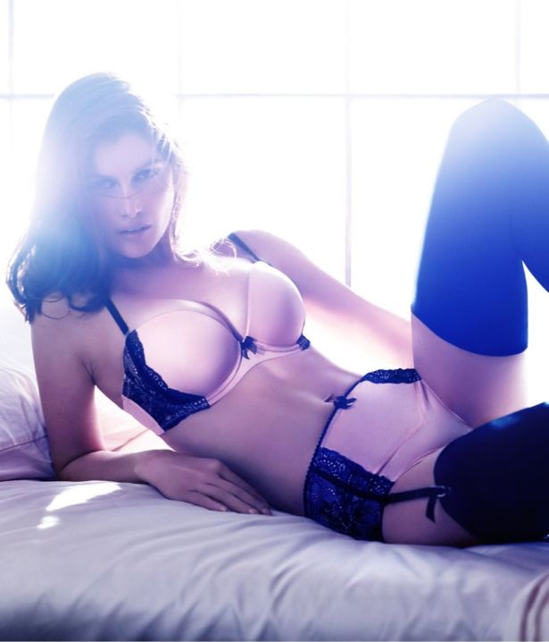 Laetitia Casta Shoots For H And M
