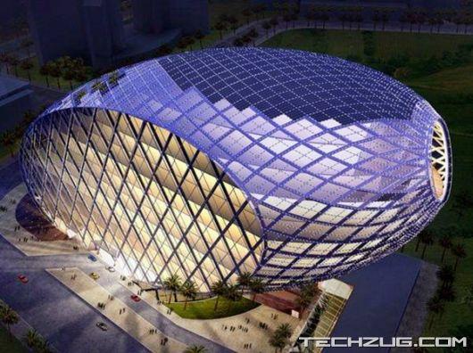 Amazing Egg Shaped Office