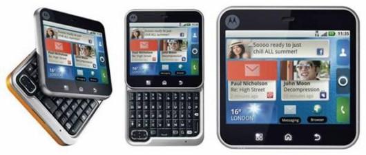 Motorola FlipOut Smart Phone