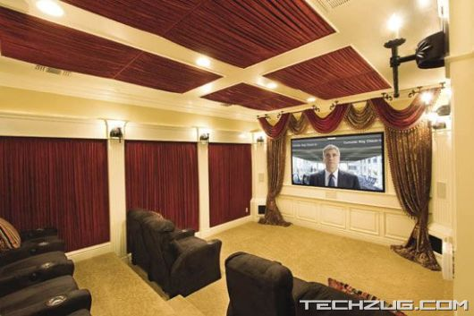 Coolest Private Home Theatres'