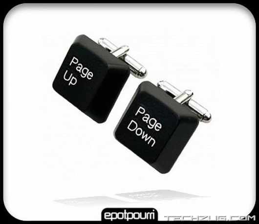 Geeky Cufflinks For Tech Freaks